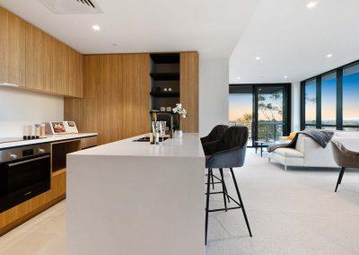 Parallel Riverfront Apartment - Open Plan Kitchen