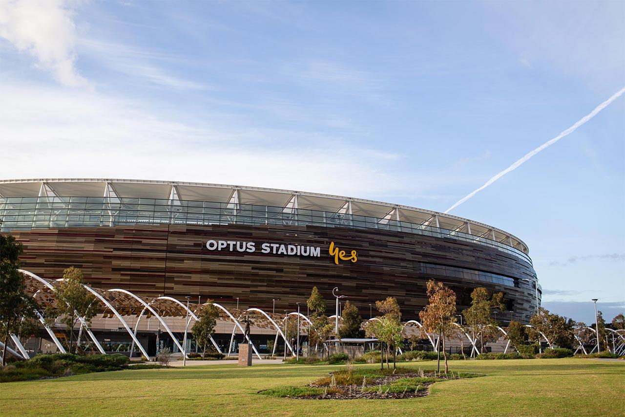 buy an apartment near the Optus stadium in Burswood