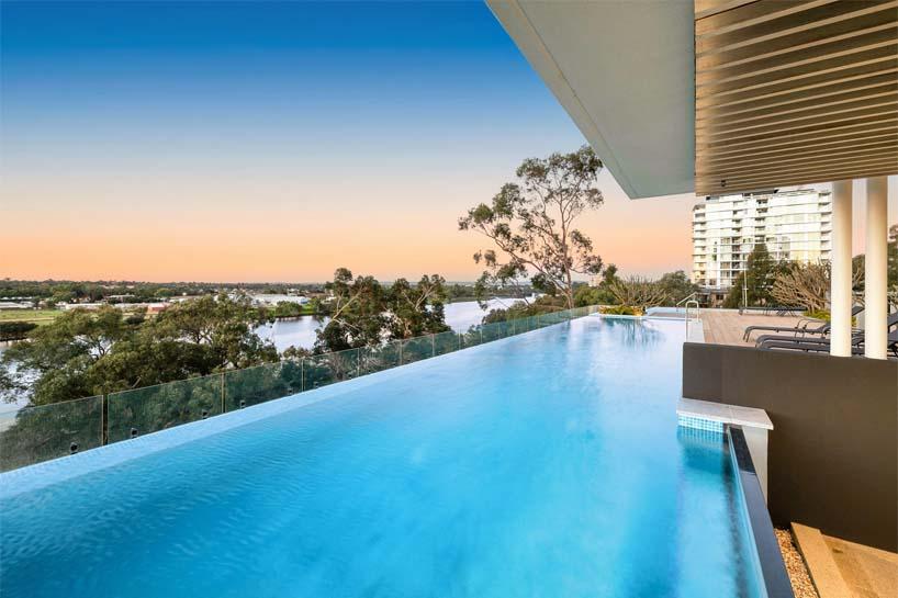 riverfronts swimming pool